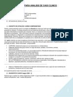 Pautas Para Analisis de Caso Clinico