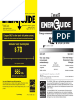 Kitchen Aid Fridge Energy Guide_EN
