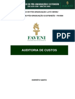 Auditoria de Custos