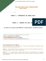 Hauts Lieux d'Energie Dans Paris - Géobio Bien Être - La Géobiologie