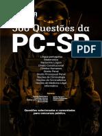 #Apostila Questões - PC-SP - 500 Questões Comentadas (2018) - Nova Concursos