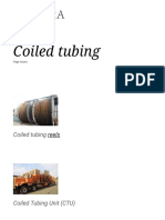 Coiled Tubing - Note