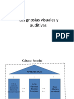 Las Gnosias Visuales y Auditivas, Scribd