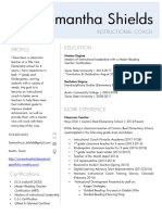resume  instructional coach