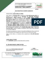 Registro de Hierro Quemador 2016 - 2019