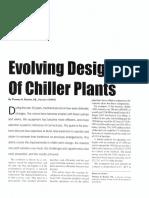 Evolving Design of Chiller Plants