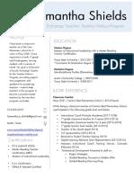 resume  teacher fellows faculty exchange teacher