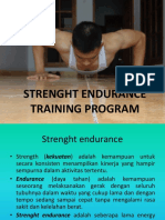 Strenght Endurance Training Program