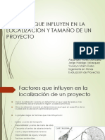 Factores Que Influyen en El Tamaño y Localizacion de La Mina