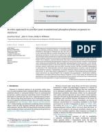 In Vitro Approach to Predict Post Translational Phosphorylation 2013 Toxicol