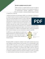AMPLIFICADORES BASICOS JFET