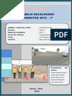 Trabajo Escalonado Pavimentos 3- 2015. Grupo A
