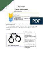 Etapas Proceso Penal Ordinario