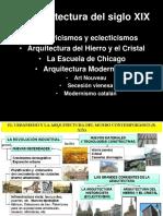 Arqs-xix Historicisimos Hierro y Cristal Chicago Modernismo