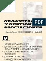 V Salas Asociaciones Organizacion y Gestion