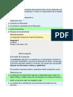 Examen Integrativo III Semestre (1) CURRICULUM Y EVALUACION