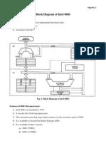 Block Diagram of 8086 Processor