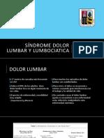 Sd Dolor Lumbar Tronzo IV