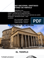 ANALISIS ARQUITECTÓNICO DEL PANTEON DE AGRIPA 2.0.pptx