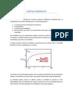 Documento Completo de Cinetica Enzimatica
