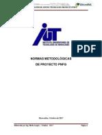 Normas Metodologicas de Proyecto