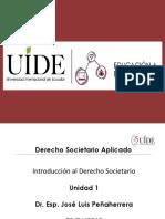 Unidad 1, Diapositivas Societario
