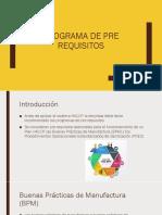 Programa de Pre Requisitos