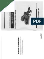 Alinco DR-510 Instruction Manual