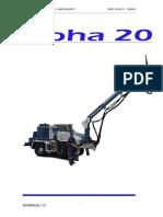 Manual Uso y Mantencion Alpha 20 s20516 a 518