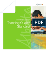 new teaching quality standards