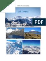Cordillera de Los Andes y Oceano Pacifico