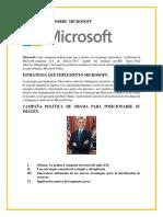 Investigacion Sobre Microsoft