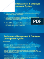 Performance Management & EDS
