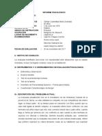 Informe Psicologico-maria Soledad