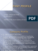 Company Profil, Pers. English