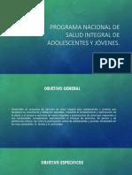 Programa Nacional de Salud Integral de Adolescentes y