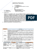 Program. Tutoria PERICO Yenry 2018
