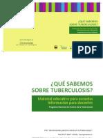 0000000475cnt Tuberculosis Material Educativo Escuelas Docentes