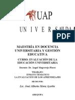 JoseMoraLa evaluación en  la EBR
