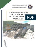 Centrales de Generación Eléctrica Del Sistema Eléctrico Interconectado Nacional (Sein)