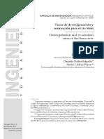 Tasas de desoxigenación y reaireación para el río Sinú.pdf