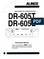 Alinco DR-605 Instruction Manual