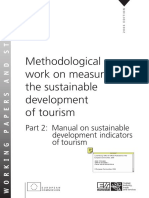 Methodological Work on Measuring the Sustainable Development of Tourism Indicadors_Eurostat_V2