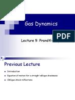 Lecture 9- Prandtl Meyer Flow