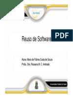 Introducao Reuso de Software 2018