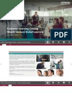 Customer Learning Catalog