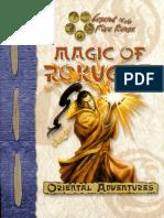 D&D L5R Oriental Adventures - Magic of Rokugan.pdf