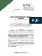 Thermodynamic Solubility of Piroxicam in Propylene (1)
