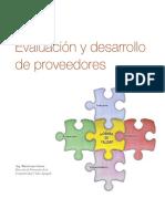 Evaluaci+¦n y desarrollo de proveedores