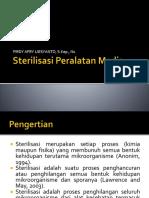 Sterilisasi Peralatan Medis
